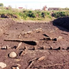 19. W trakcie prac natrafiono na osadę z XVI w. Badania archeologiczne